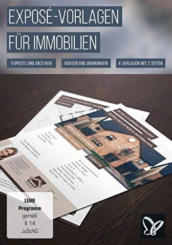 Exposé-Vorlagen für Immobilien, Häuser und Wohnungen (Win+Mac)