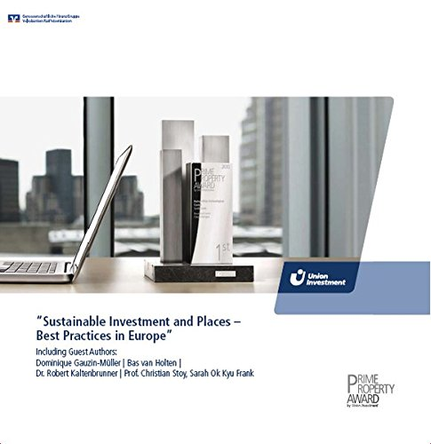 Prime Property Award 2010: Sustainable Investment and Places – Best Practices in Europe