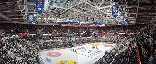 Mannheim Eishockey Arena Panorama – Poster 120 x 50 cm – hochwertiger FineArtPrint